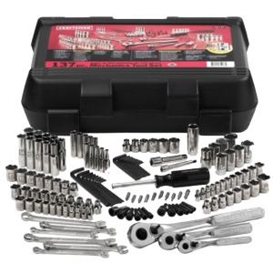 Multi Piece Craftsman Socket & Ratchet Set