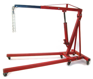 Large Craftsman Hyrdraulic Engine Lift