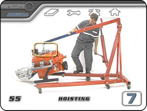 Hyrdraulic Engine Hoist